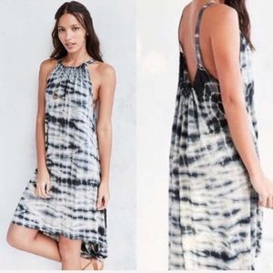 NWT Ecoté UO Hazelene Dip-dye Jersey Dress S A71